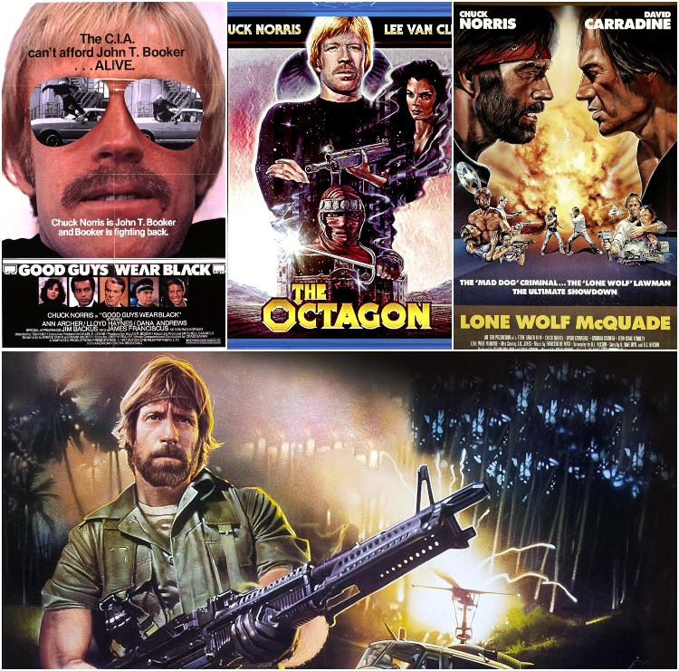 Chuck Norris collage