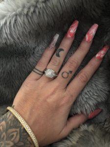 Malucci anillo compromiso