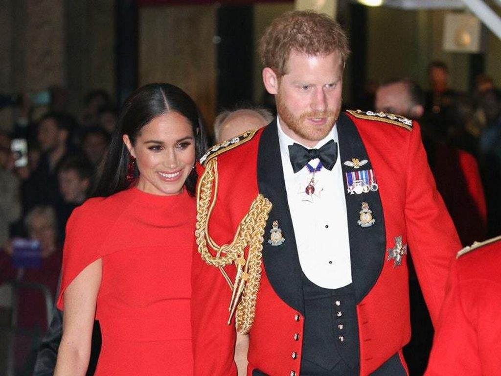 Príncipe Harry y Meghan Markle duques de Sussex (2)