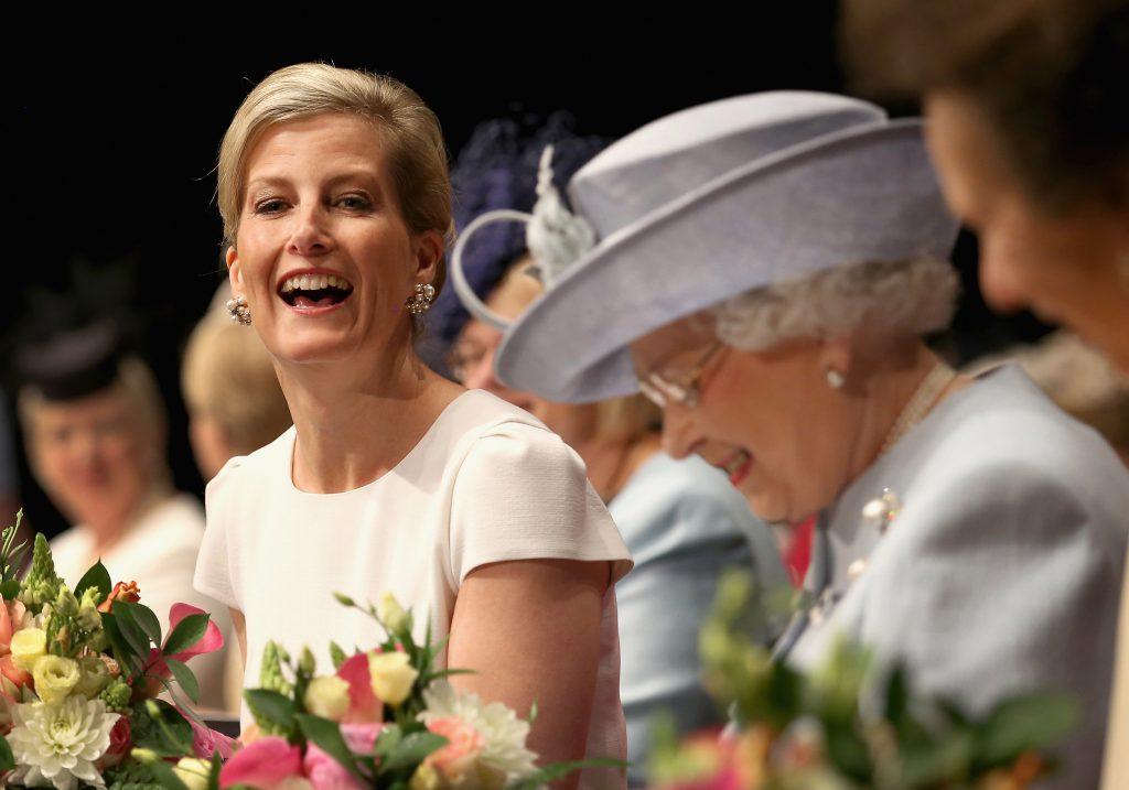 Sophie de Wessex Príncipe Harry y Meghan (2)