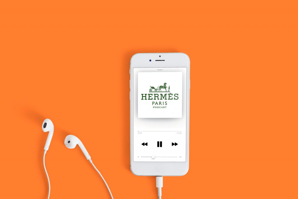 Hermes podcast moda