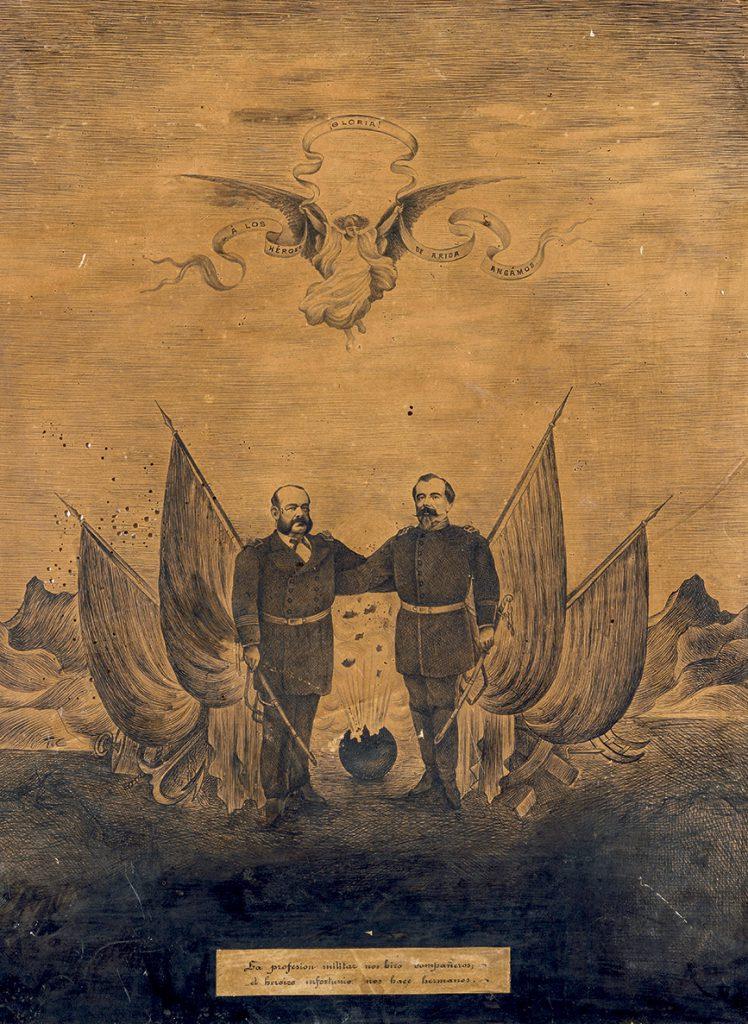 Francisco Bolognesi y Miguel Grau