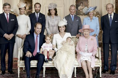 Familia Real Británica Elizabeth II