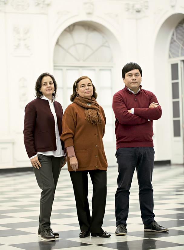 Hija de Sara de Lavalle con Natalia Majluf y Ricardo Kusunoki