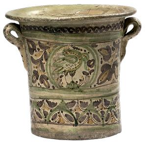 Vasija de cerámica Subasta MALI