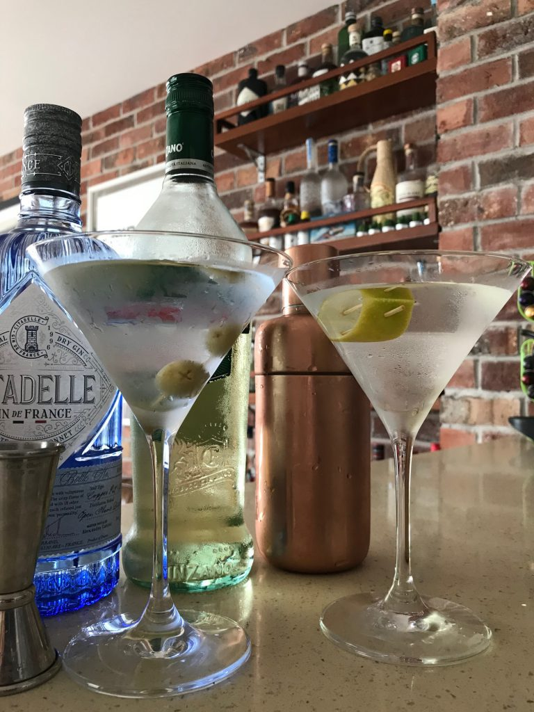 Martini-cocteles cuarentena