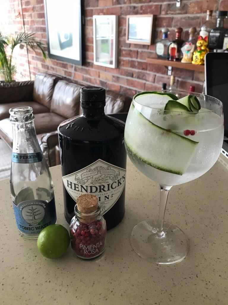 Gin tonic-cocteles cuarentena