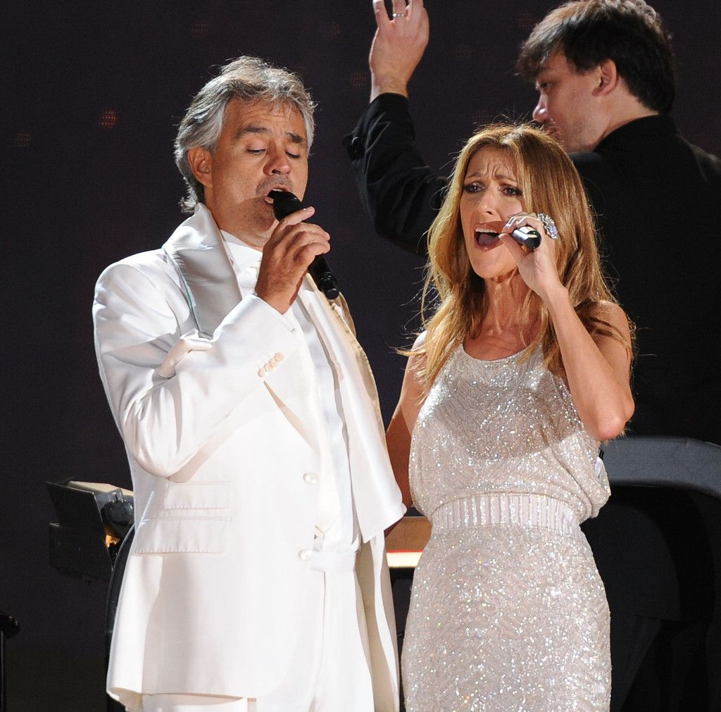 Andrea Bocelli celine dion