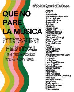 streaming festival-agenda