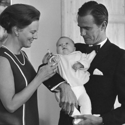 Prinsesse Margrethe, Prins Frederik, Prins Henrik
