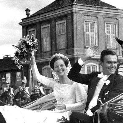 Prins Henrik, Prinsesse Margrethe, Heir Apparent Princess Margrethe married Count Henrik de Laborde de Monpezat