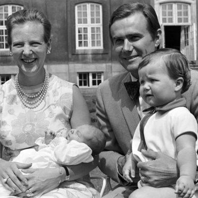 Prins Henrik, Kronprins Frederik, Tronfølger Prinsesse Margrethe, Prins Joachim
