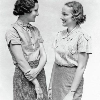 faldas moda años 30