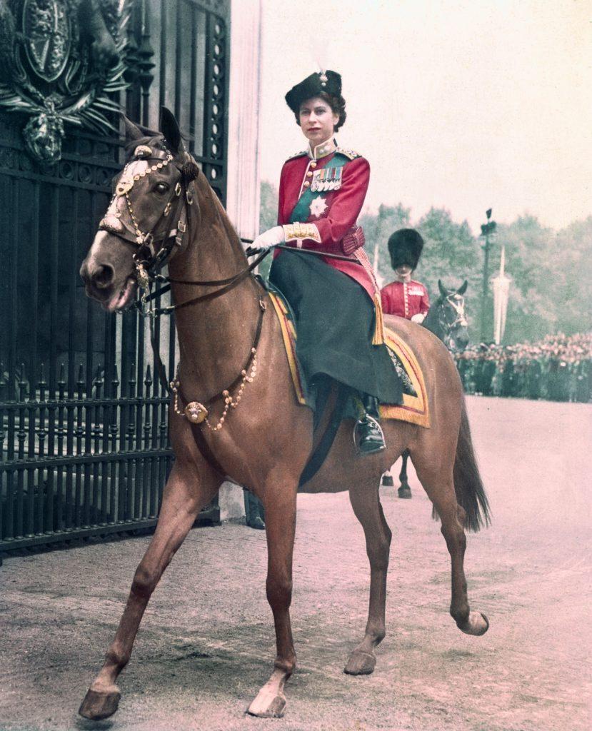 Princess Elizabeth Riding a Horse
