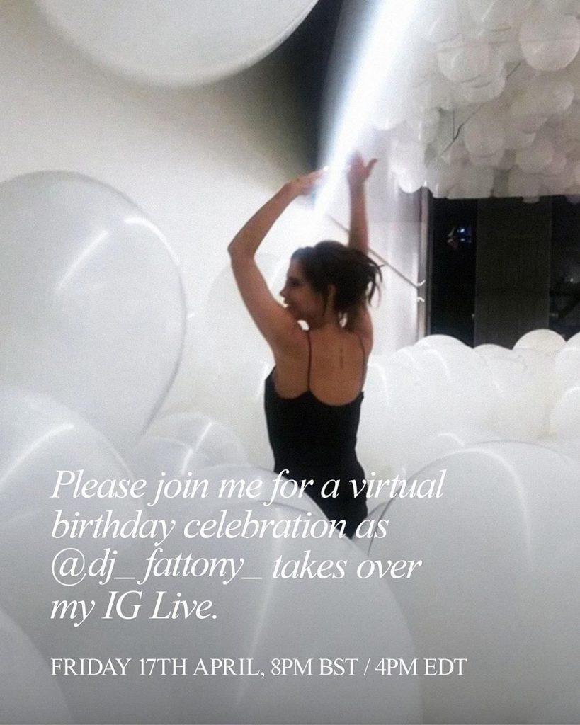 victoria beckham-fiesta cumpleaños