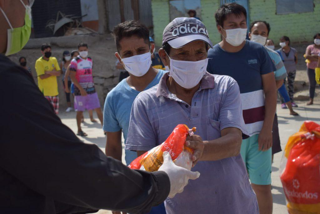 Asociaciones sin fines de lucro coronavirus Misión Huascarán