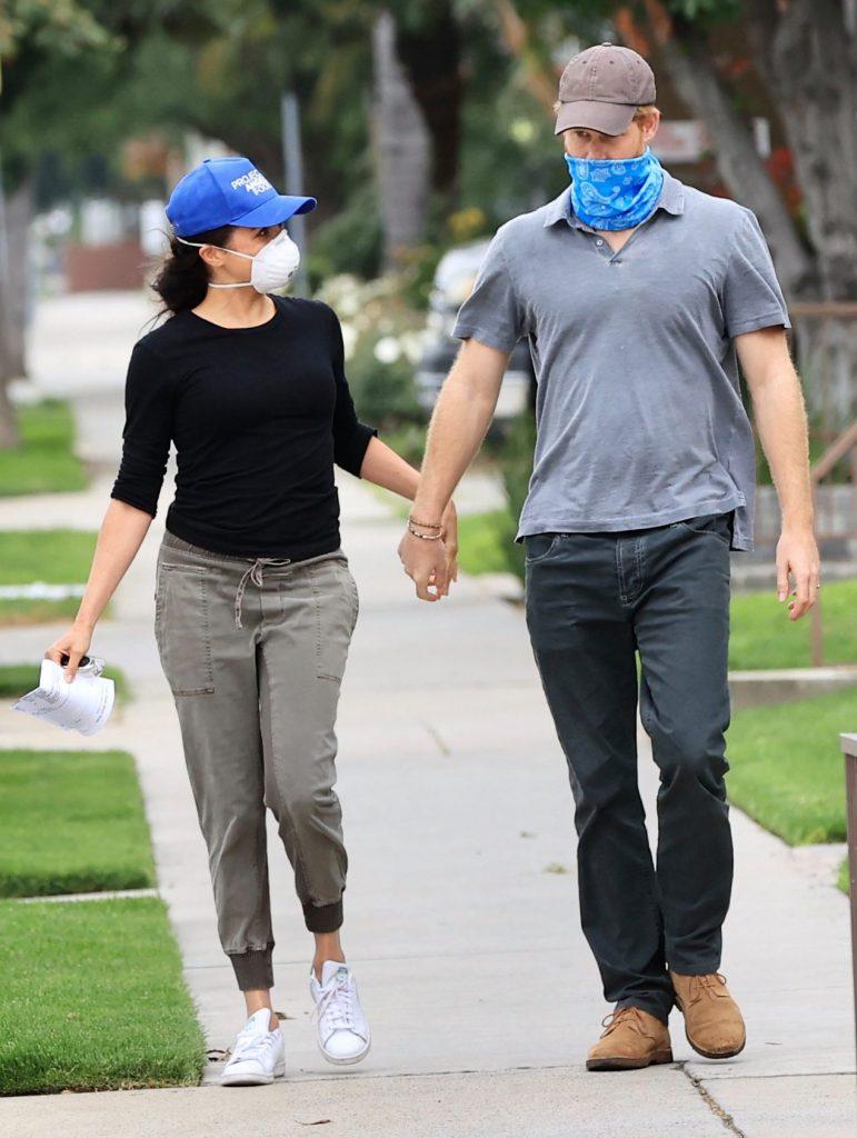 Meghan y Harry Archie Los Ángeles