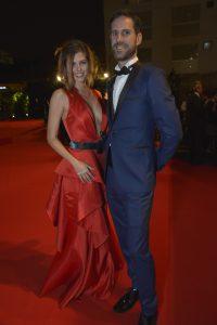 Stephanie Cayo y Manuel Pestana