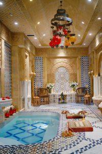 Mohammed Hadid baños turcos