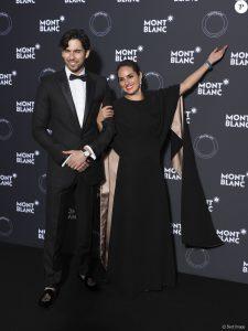 Isabel Miró Quesada y Jason Day, en 2018.