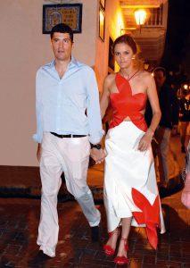 Charlotte Wellesley y Alejandro San Domingo en Cartagena