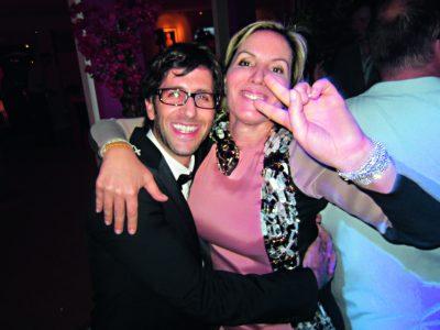 Michael Grimberg e Iliana Lolas, de Prada.