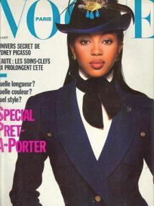Naomi Campbell Vogue Francia