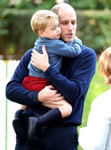 el duque de Cambridge reveló que, cuando nació su primer hijo, revivió todos sus miedos .