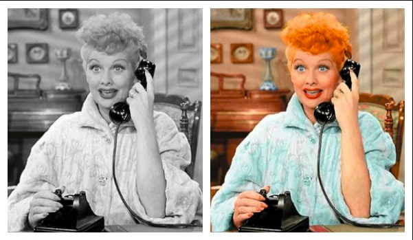 lucille ball a color