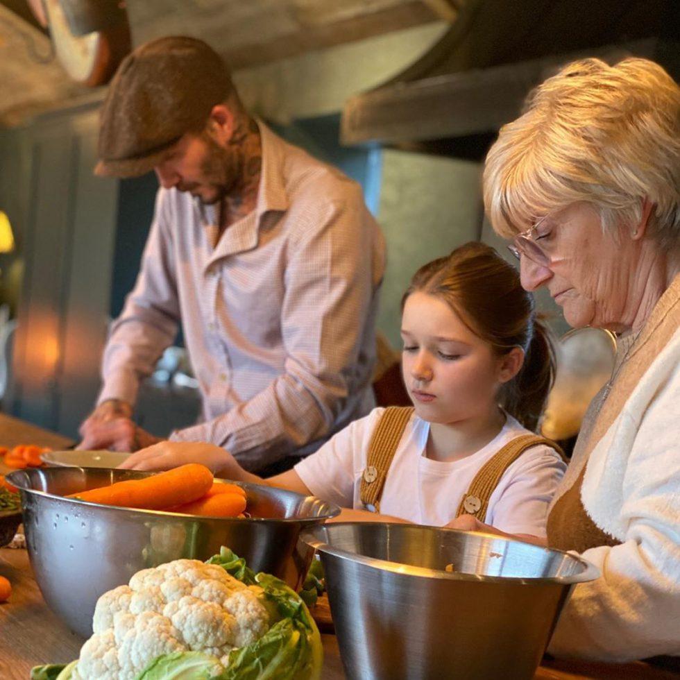 David Beckham programa de cocina