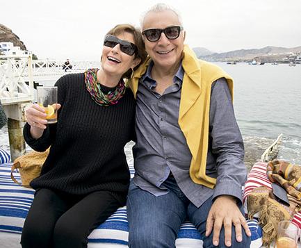 Cecilia Batievsky y Eduardo de las Casas