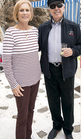 Ivy Cooper y Max Isola en Pucusana