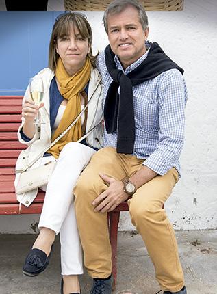 Maria Pía Barberi y José Ossio