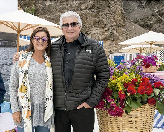 Patricia Celi y Nico Boza