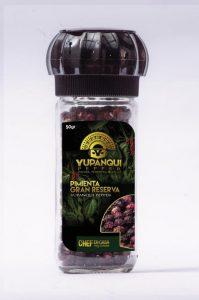 Tres productos: pimienta Yupanqui