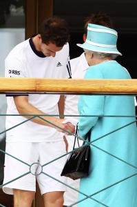 Andrew Murry y la Reina