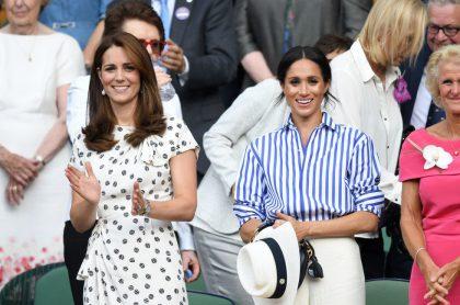 La Duquesa de Cambidge y la Duquesa de Sussex