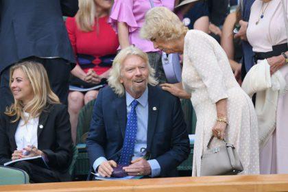 Richard Branson y Camilla