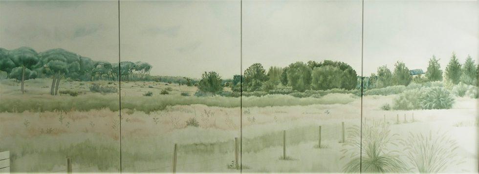 Belén Rodríguez mural