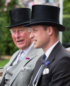 principe William y príncipe Charles