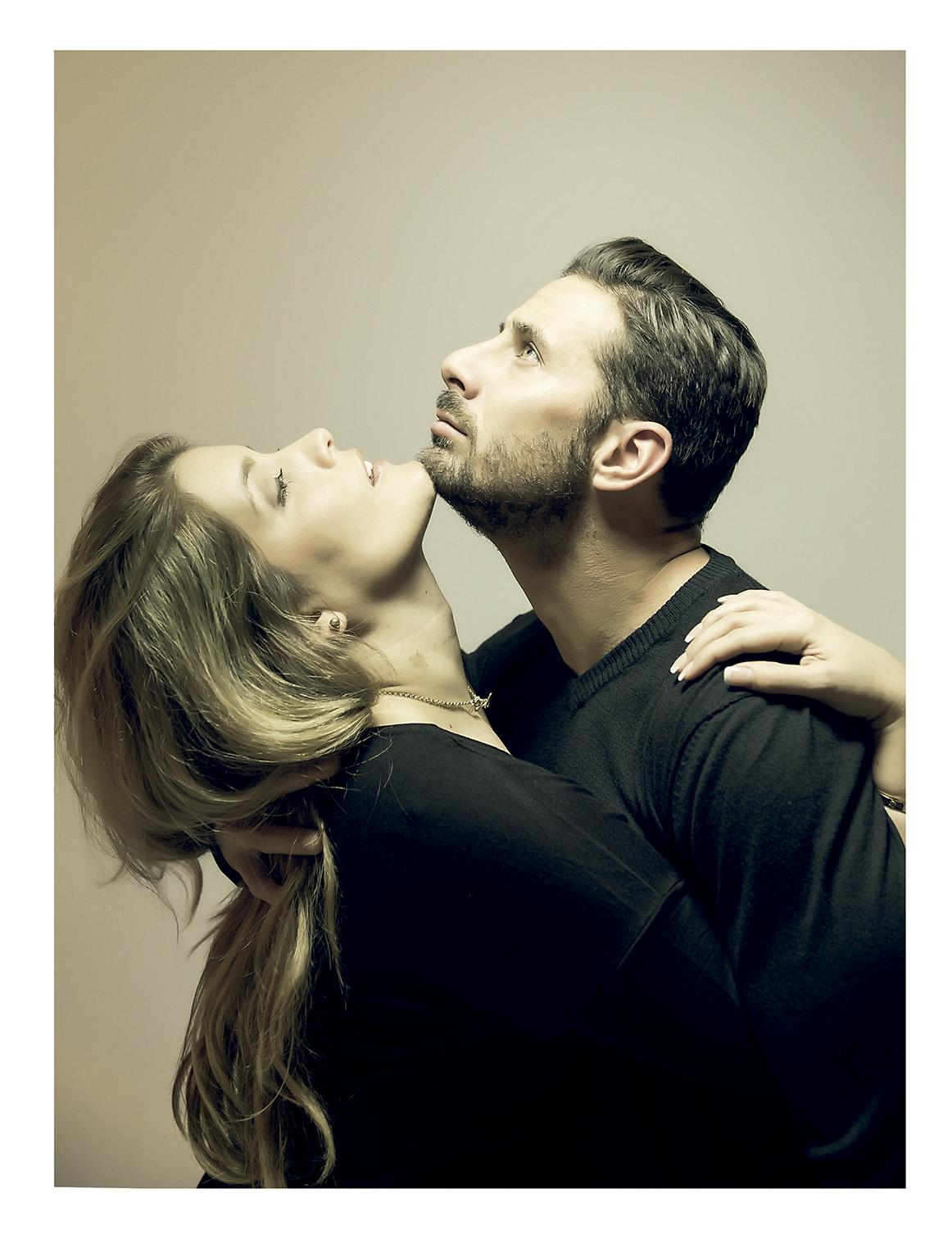 Karla Salcedo y Claudio Pizarro