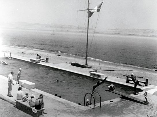 La piscina del Hotel Paracas.