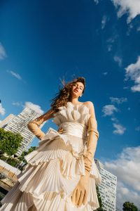 balmain, vestido Alta Costura Novia