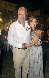 Paloma Derteano y Cristóbal Cillóniz