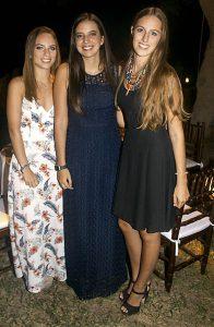 Florencia Cillóniz, Valeria Martijena y Francesca Cillóniz