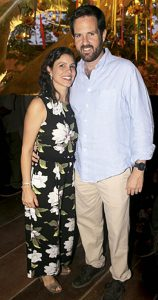 Francesca Forga y Emilio Cillóniz