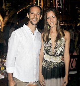 José Cillóniz y María Inés Pinto