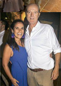 Pamela Monasin e Ignacio Cillóniz