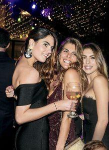Oriana Gallo, Antonella Carvajal y Daniela Sanguineti