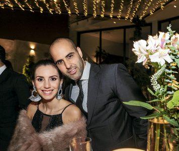 Sofía Valdez y Fuad Hamideh